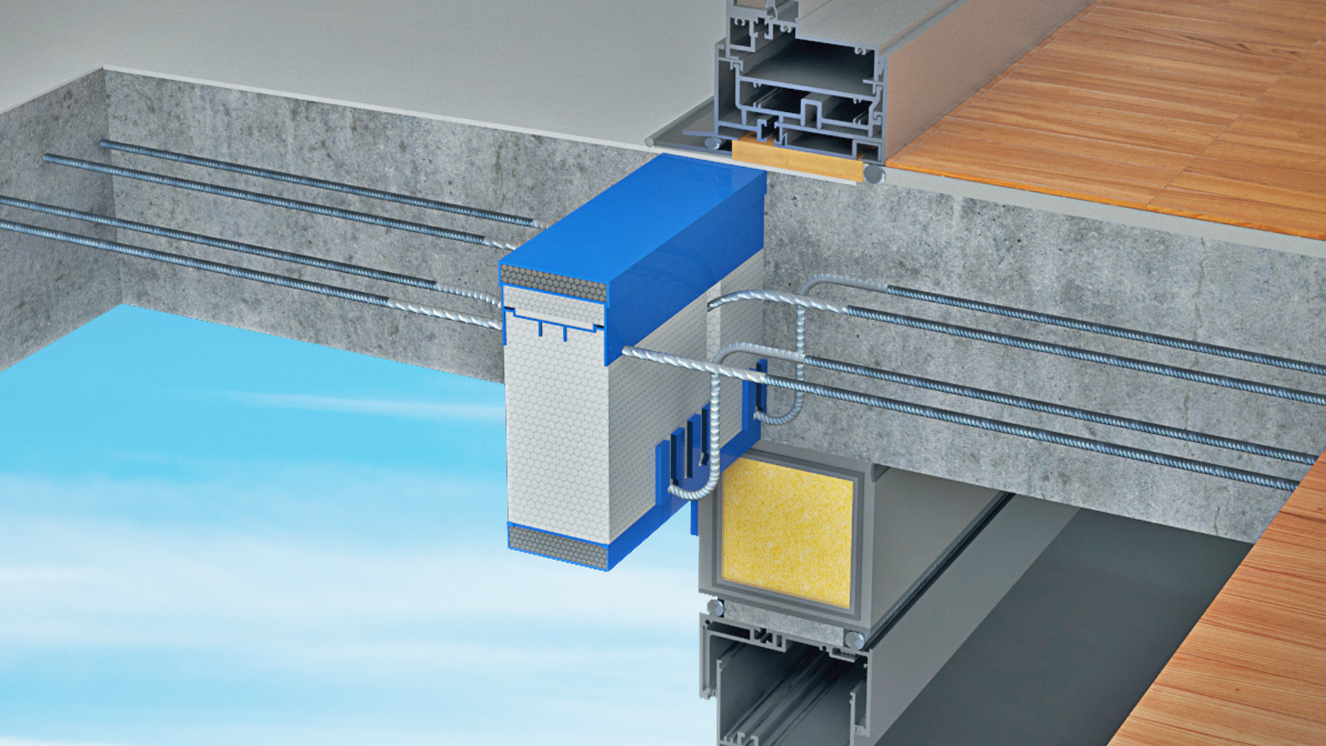 Structural Thermal Break Balcony Applications Sch 246 Ck